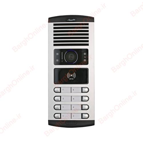 قیمت خرید پنل ایفون تصویری 1086 (FD)-RFID الکتروپیک تک و عمده فروشگاه اینترنتی برق انلاین